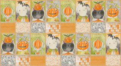Halloween Pals Panel in Multi