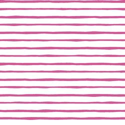 Artisan Stripe in Petunia on White