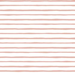 Artisan Stripe in Quartz on White