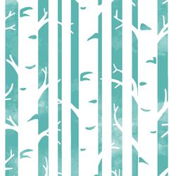 Big Birches in Seafoam