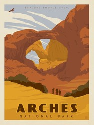 Poster Panel in Arches