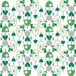 Umbrella Damask in Green
