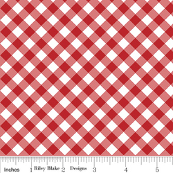 Seaside Gingham in Red