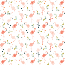 Little Flamingos in Paradise