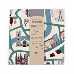 """London Town 5"""" x 5"""" Pack"""