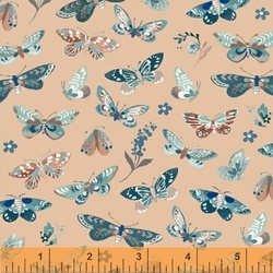 Butterflies in Peach