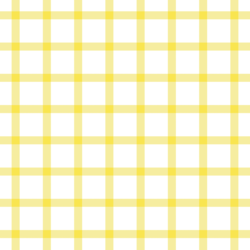 Summer Gingham Check in Dandelion