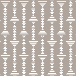 Little Tribal Stripe in Taupe