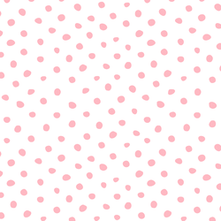 Painted Dots in Bubblegum