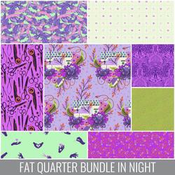 Homemade Fat Quarter Bundle in Night