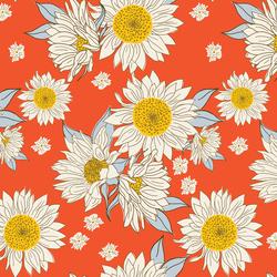 Sunflowers in Cherry
