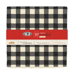 """Plaid of my Dreams 10"""" Square Pack"""