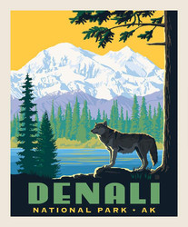Poster Panel in Denali
