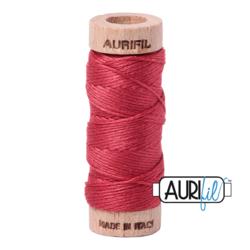 Large Spool Red Peony - 28wt Aurifil Thread 2230