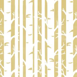 Birches in Honey