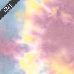 Primary Tie Dye in Rose Sky & Yellow