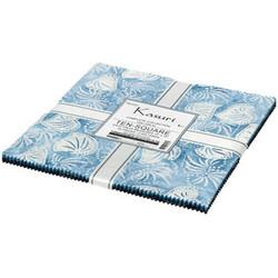 """Kasuri Artisan Batiks 10"""" Square Pack"""