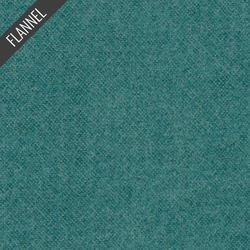 Melton Flannel in Teal