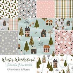 Winter Wonderland Fat Quarter Bundle