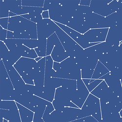Star Charts in Blue Jay