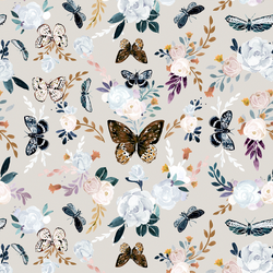 Butterfly Floral in Monarch