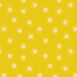 Desert Sun in Yellow
