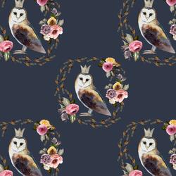 Cambridge Owl in Royal Blue