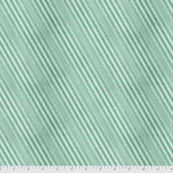 Peppermint Stripe in Winter Mint
