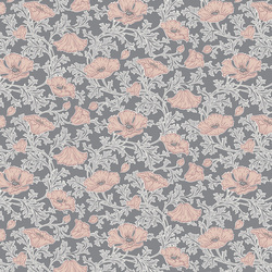 Beatrice Poppy in Pearl Gray