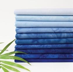 Lava Batik Solid Fat Quarter Bundle in Sky