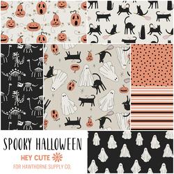 Spooky Halloween Fat Quarter Bundle