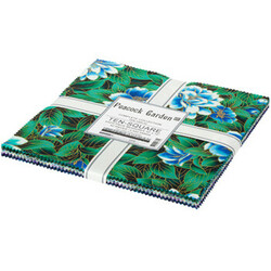 """Peacock Garden 10"""" Square Pack"""
