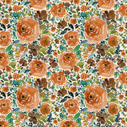 Small Copper Roses in Soft Pink