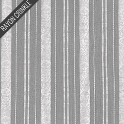 Barcode Crinkle in Silver