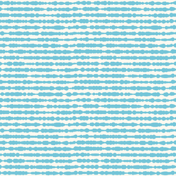 Little Dotted Stripe in Topaz Blue