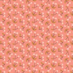 Little Cherries in Summer Coral
