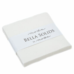 Bella Solids Charm Pack in Off White