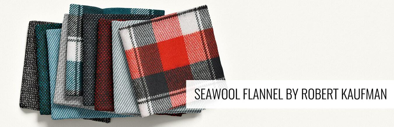 Seawool Flannel by Robert Kaufman