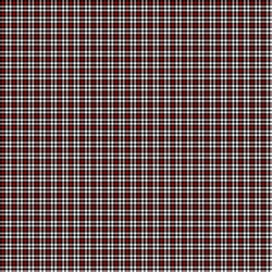 Plaid in Red, Black and White