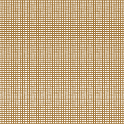 Wobbly Grid in Burnt Toffee