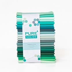 Pure Solids Half Yard Bundle in Summering