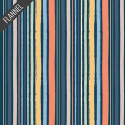 Stripes in Navy