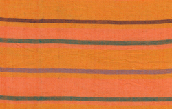 Alternating Stripe in Orange