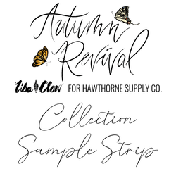 Autumn Revival Sample Strip