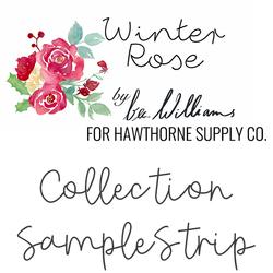 Winter Rose Sample Strip