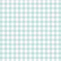Small Buffalo Plaid in Glacier Blue