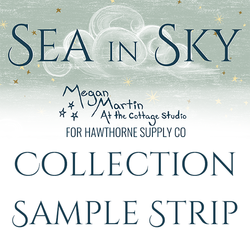 Sea In Sky Sample Strip