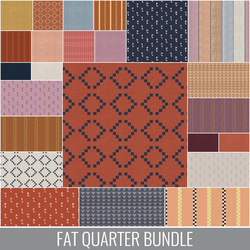 Warp and Weft Wovens Fat Quarter Bundle
