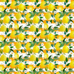 Small Lemons in Orange Stripes