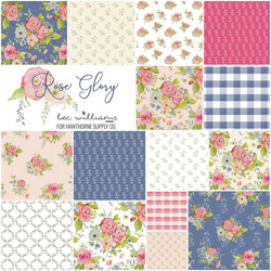 Rose Glory Fat Quarter Bundle